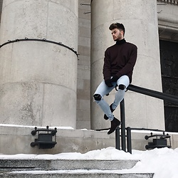 Silesianbeast - H&M Sweatshirt, H&M Jeans, H&M Chelsea Boots, River Island Pants - Winter Look #2