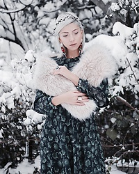 Rana Demir - Exquise Dress - Snow White