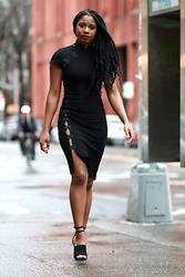 Monroe Steele - Reformation Dress, Alexander Wang Shoes - Refined Reformation