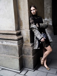 Alexa Carolin Thiele - Edited The Label Dress, Mango Leo Coat, Chloé Bag - Something romantic and wild | SANCAROLIN.COM