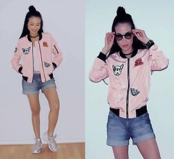 Hanna From HOLLAND - Shein Jacket - Pink jacket <3