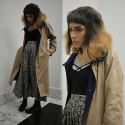 Fruitdandy - London Fog Coat, Dr. Martens Boots - Finding Light