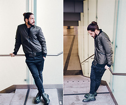 Maik - Sky Rebel Bomber, Sky Rebel Chino, Marc By Jacobs Boots - Bomber and chino