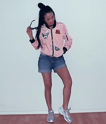 Hanna From HOLLAND - Shein Pink Jacket - Pink forever :D