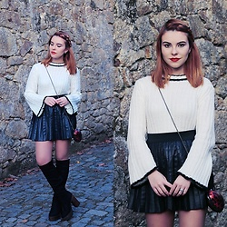 Carina Gonçalves - Zaful Sweater, Primark Skirt, Lamoda Boots - Come on now, follow my lead