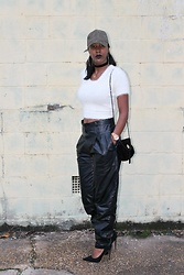 Samjah Iman -  - The Generational Leather Pants