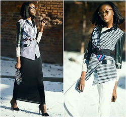 Sui Generis -  - 2 belts + 1 jacket = 2 looks