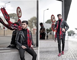 Ayoub Mani - Modekugenfashion Jacket, Weekday Pant, Asos Shoes - Modern man has lost the option of silence