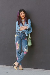 Nomadic Heels - Topshop Jeans, Coach Bag, Zara Pumps, Aldo Necklace - Goodbe My Lover