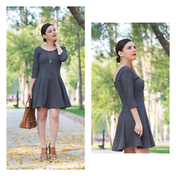 Emel Acar - Choies Bag - Skater Dress