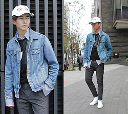Eragon 莊 - Zara Denim Jacket, Zara Long Version Shirt - Today style 17/ 0119