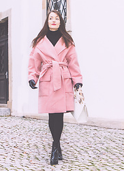 Stefanie - House Of Sunny Pink Coat - The pink coat