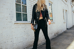 Eleonore Marie Stifter - Asos Jeans, Allsaints Jacket, Valentino Bag - Cropping Around in January