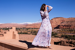 Margot Guilbert - Star Dress - Desert Vibes | Morocco
