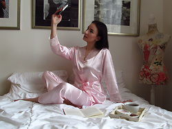 Anna Puzova - Zaful Pajama - In My PJs