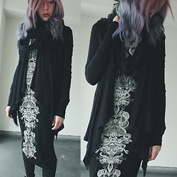 Candy Thorne - Monki Maxi Bodycon - Dementor
