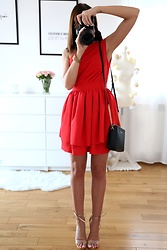 Joanna K. -  - RED DRESS ♥ || PLAAMKAA.PL
