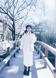 Yu Ling Su - Uniqlo Socks - Winter look