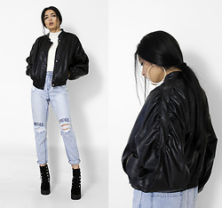 Yatri P - Asos Jacket, Missguided Jeans, Simmi Boots - WATEVER FOREVER