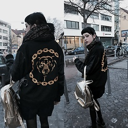 Sia Delacroix - Longclothing Bomber Jacket - I don't know anything at all