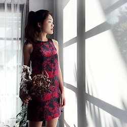 Amanda Olivia L. - The West Urban Oriental Shift Dress - Cheers to the Lunar New Year