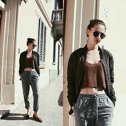 Daria Moysa - Zaful Top, Zaful Sunglasses - Once in Italy
