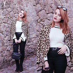 Carina Gonçalves - Zara Jacket, Zaful Sweater, Bershka Pants, Lamoda Boots - With the blink of an eye, you finally see the light