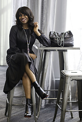 Monica Awe-Etuk - Christian Louboutin Booties, Dress 30% Off, Statement Necklace 30% Off - AWED BY MONICA: DRESS IN BLACK