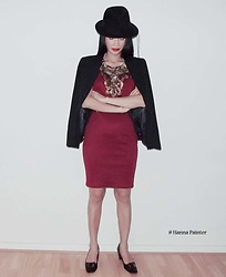 Hanna From HOLLAND - Chicme Red Dress - Black and red