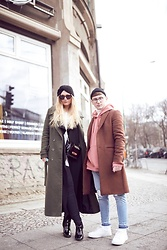 Jesko Wilke - Tom Ford Glasses, Zara Coat, Topman Sweater, Topman Jeans, Asos Sneaker - Berlin Fashion Week