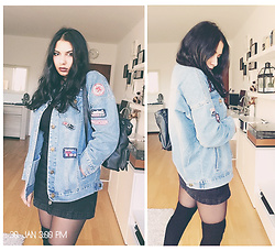 Arna . - Jeans Jacket - 90's Back to school