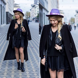 The Blonde Bliss - The Blonde Bliss Hats Hat, All Details On - Touch of purple