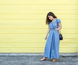 Christina N -  - Denim Jumpsuit