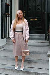 The Curvy Chapter Saskia -  - DUSTY PINK HUES