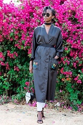 Wanjiku Esther -  - Silk robe