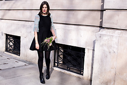Margot Guilbert - Lbd - Slow Fashion Challenge | Look 11 {Little Black Dress}