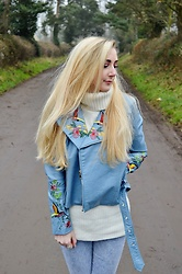 Isobel Thomas - Sammy Dress Embroidered Jacket, H&M Jeans - Embroidered Jacket