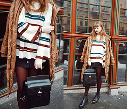 Kristina Magdalina - Poppy Lovers Sweater, Zaful Skirt, Vipme Bag - WEEKENDS.