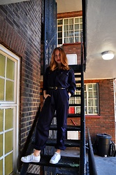 Maria Dinca - Wwk Boiler Suit, Adidas Superstars, H&M Leather Belt - How to Wear an (Actual) Boiler Suit