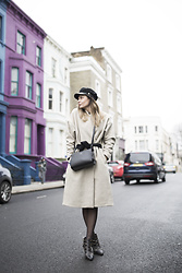 Karolina Gespucci - Toteme Coat, Radley London Bag - NZCA LINES- INFINITE SUMMER
