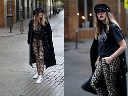 Amy Ramírez - Sfera Trousers - Animal print