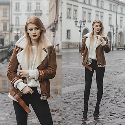 Katarzyna KOKA Konderak - Coat - Brown coat
