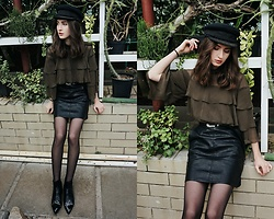 Daria Moysa - Zaful Skirt, Gamiss Boots, Zaful Belt - Jungle