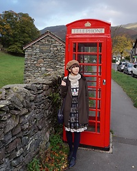 Roisin G -  - Countryside Red Red Telephone Box