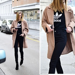Katarina Vidd - All Items On My Blog, Adidas Tee - Adidas + camel.
