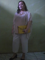 Tya Tanjung -  - Cream + White + Yellow = Perfect Touch