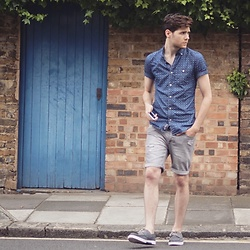 Andrew P - Driftking Shirt, Sky Rebel Shorts - Summer Lovin'