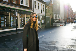 Jil Carrara - Everlane Coat, Persol Sunglasses - Hibernation