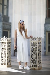 Drifting Nomad -  - ALL WHITE JUMPSUIT