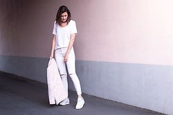 Margot Guilbert - Eco Friendly Sneakers - All white & eco-friendly - The Pastel Project